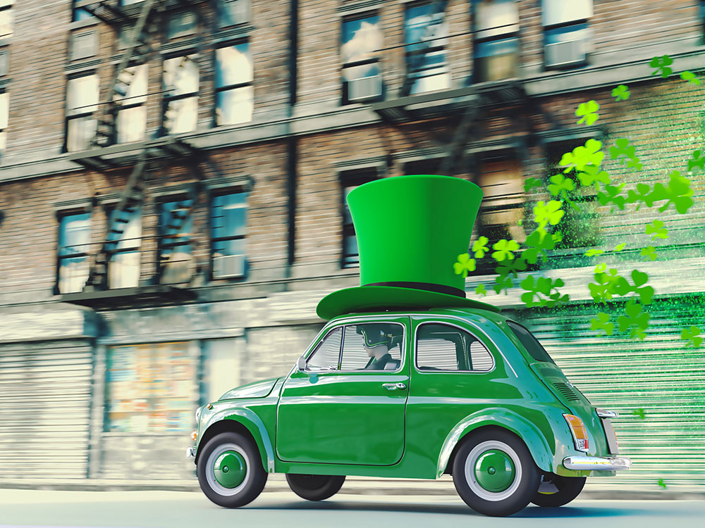 Stay Green for St. Patrick's Day with Your Vehicle Maintenance
